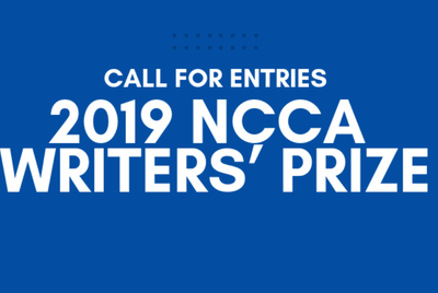 NCCA is now accepting entries for Writers' Prize 2019