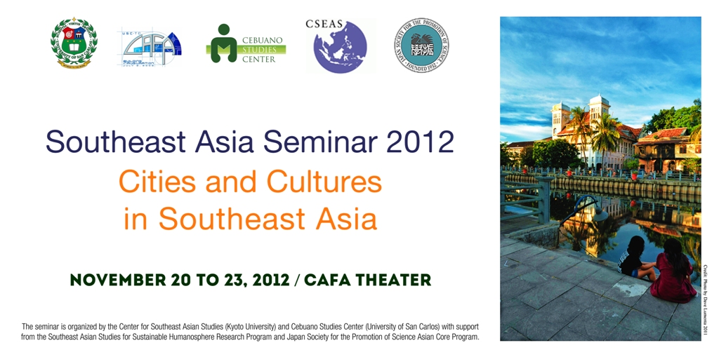 36th Southeast Asia Seminar: Cities and Cultures in Southeast Asia
