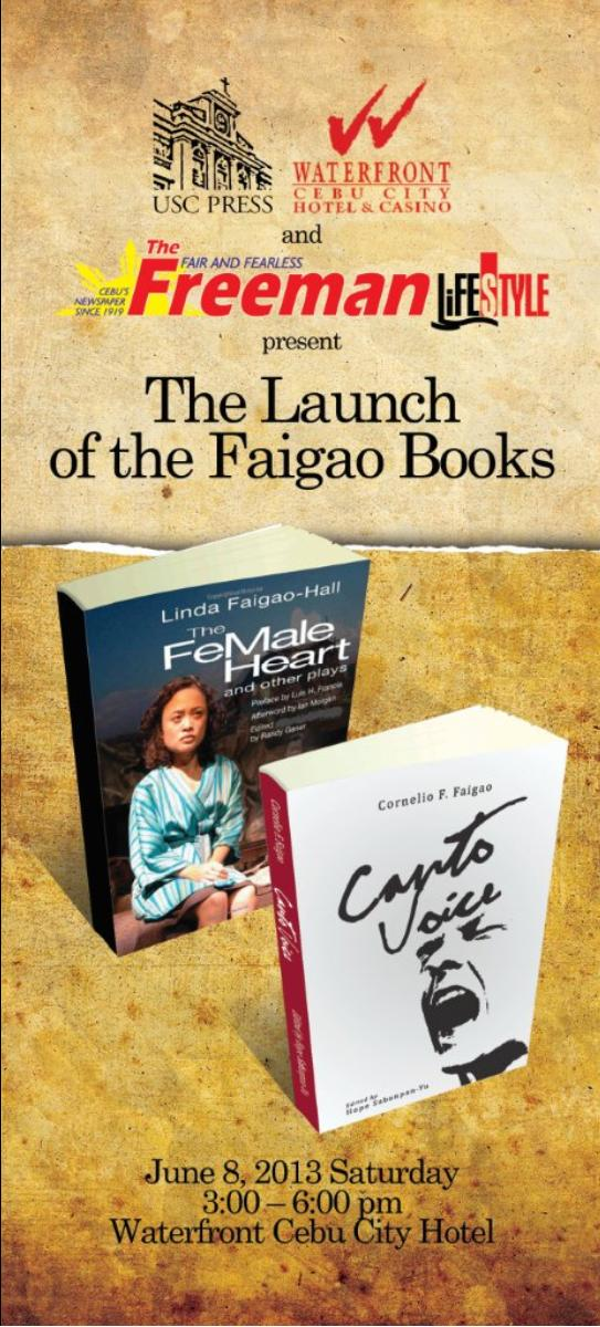 The Launch of the Faigao Books